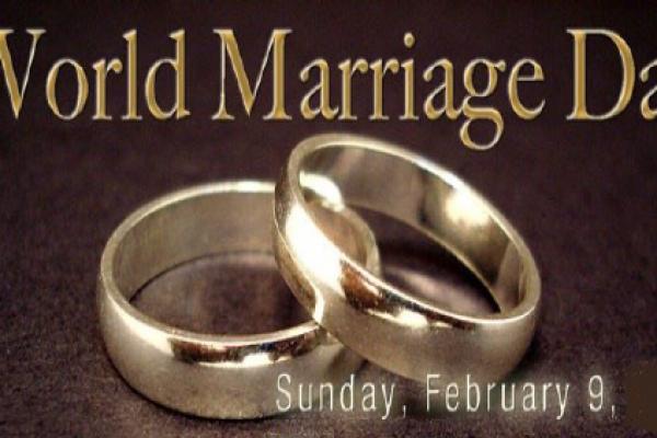 The World Marriage Day Anniversary Mass
