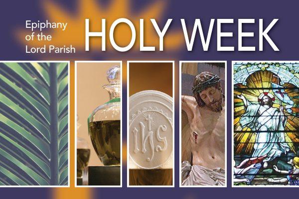 Palm Sunday & Holy Week