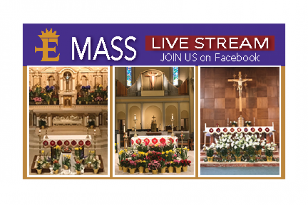 4th Sunday of Easter – Live Stream Sunday Masses start May 3