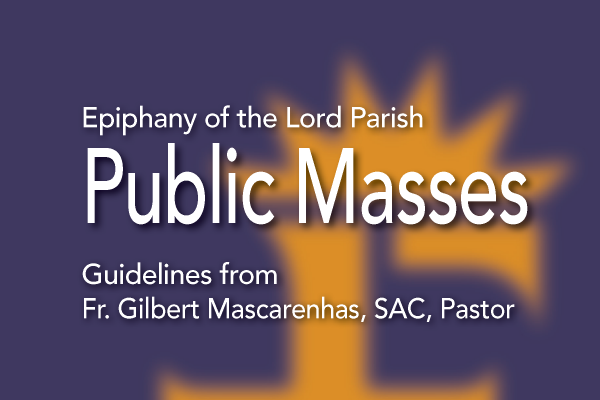 Mass Guidelines for Public Worship