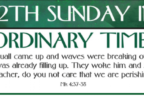 12th Sunday of Ordinary Time