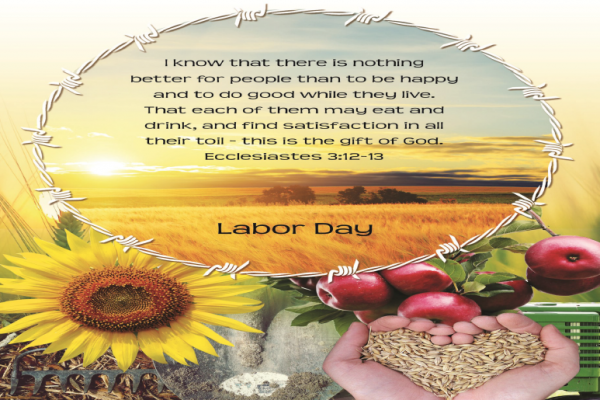 Labor Day: 23rd Sunday in Ordinary Time